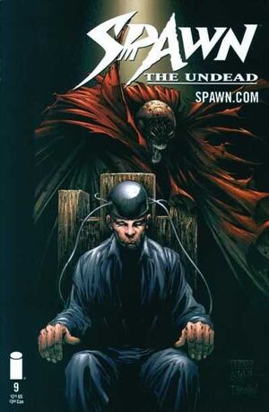 Cover for Spawn: The Undead #9 (2000)