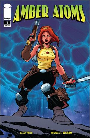 Cover for Amber Atoms #1 (2009)