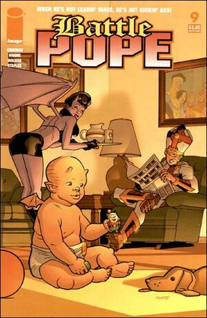 Cover for Battle Pope #9 (2006)