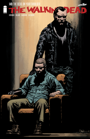 Cover for The Walking Dead #149 (2015)