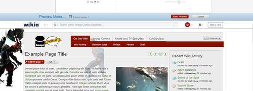 Image Background Settings