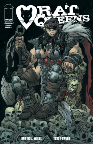 Cover for Rat Queens #8 (2015)