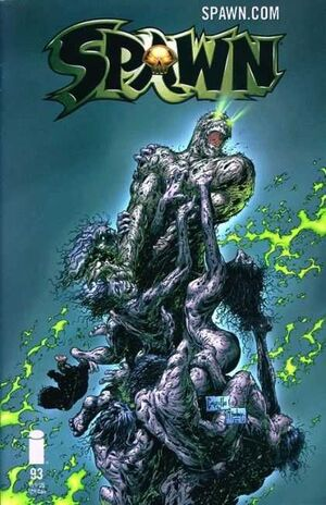 Cover for Spawn #93 (2000)