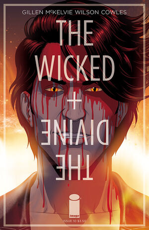 Cover for The Wicked + The Divine #10 (2015)