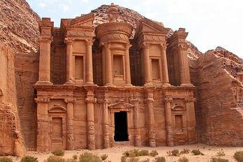 Jordan-18C-031 - The Monastery & Inside