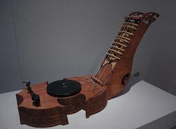 Walter Kitundu - Fifteen String Phonoharp 1 - Museum of Craft and Folk Art, San Francisco