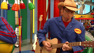 S3e24 Smitty playing instrument