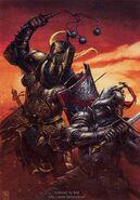 Black knight battle