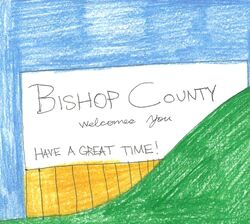 Bishop County, Zinrico welcome