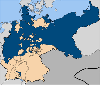 Prussia in Holy Germania, as it is today