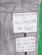 McSwean town limit