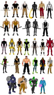 VX Super Force Movie Characters 2