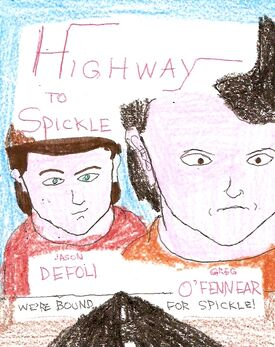 Highway to Spickle movie poster