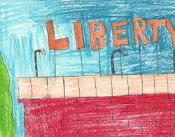Liberty sign in Lohana
