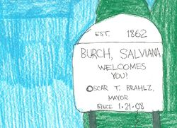 Burch, Salviana welcome