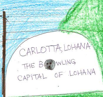 Carlotta, Lohana's stone