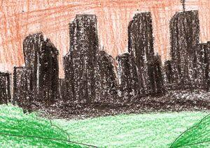 Jord City Skyline Silhouette