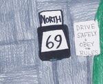 Salviana Route 69 shield