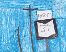 Zinrico 41 shield northbound