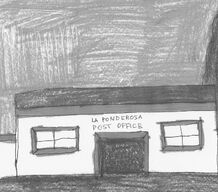 La Ponderosa 1st Post Office