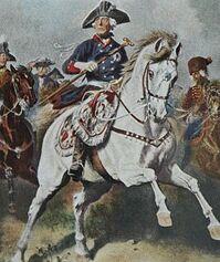 Fredrick during Seven Years War