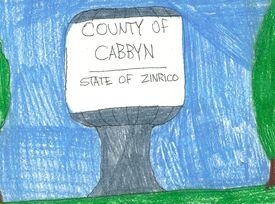 Cabbyn County water tower