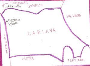 Location of Carlana