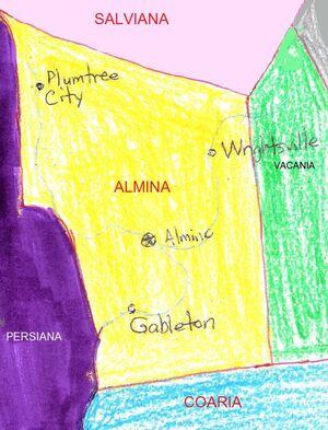 Almina's Location