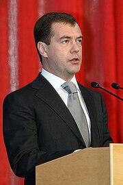 Prime Minister Medvedev