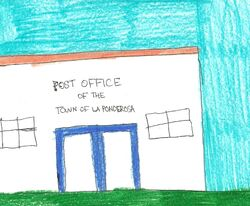 La Ponderosa Post Office