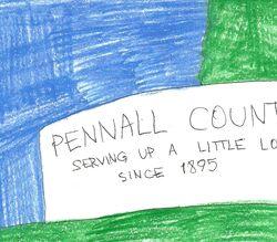 Pennall County Wall