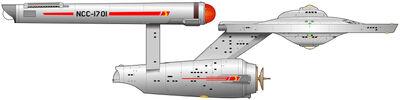 Uss enterprise ncc-1701 constitution class pre-refit