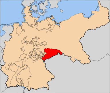Kingdom of Saxony, red, Holy Germania
