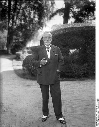 Willhelm II in 1933