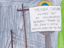Marker in Trinax, Carlana