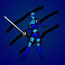 Syler the Blue Tiger Ninja Warrior