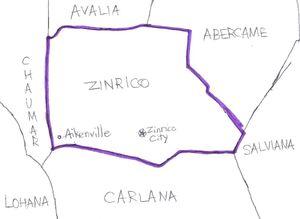 Location of Zinrico