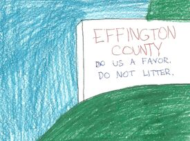 Effington County sign