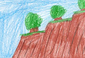 Wyboard Cliffs