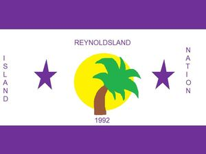 Flag of Reynoldsland