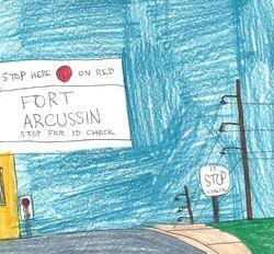 Fort Arcussin - Arcussin Gate