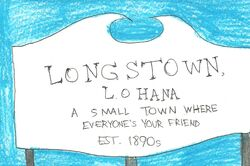 Longstown sign (Lohana)