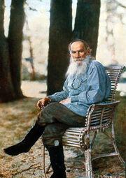 L N Tolstoy Prokudin-Gorsky