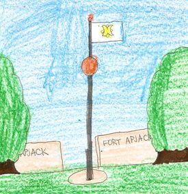 Fort Apjack flag