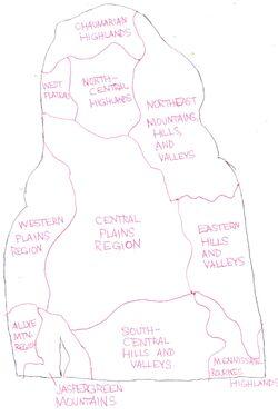 Geographical Regions of Lohana