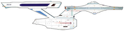 Uss enterprise ncc-1701 constitution class post-refit