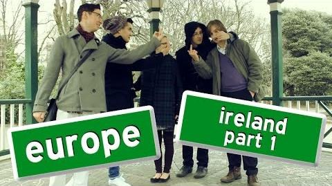 CrystalFissure & Nintendogen64's European Adventure - Ireland Part 1