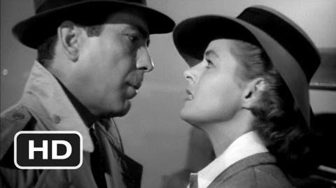 Here's Looking At You, Kid - Casablanca (5 6) Movie CLIP (1942) HD-0