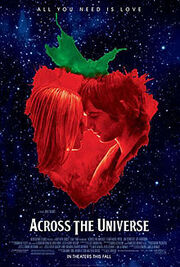 Across the universe (2007 film) poster