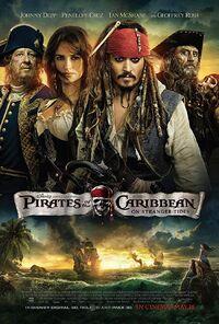 Pirates of the Caribbean - On Stranger Tides (2011) Poster
